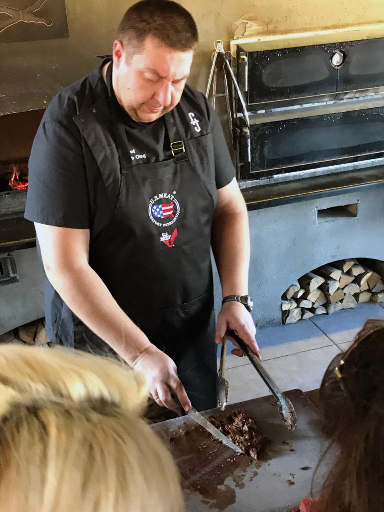Семинар по американской мраморной говядине в Тбилиси