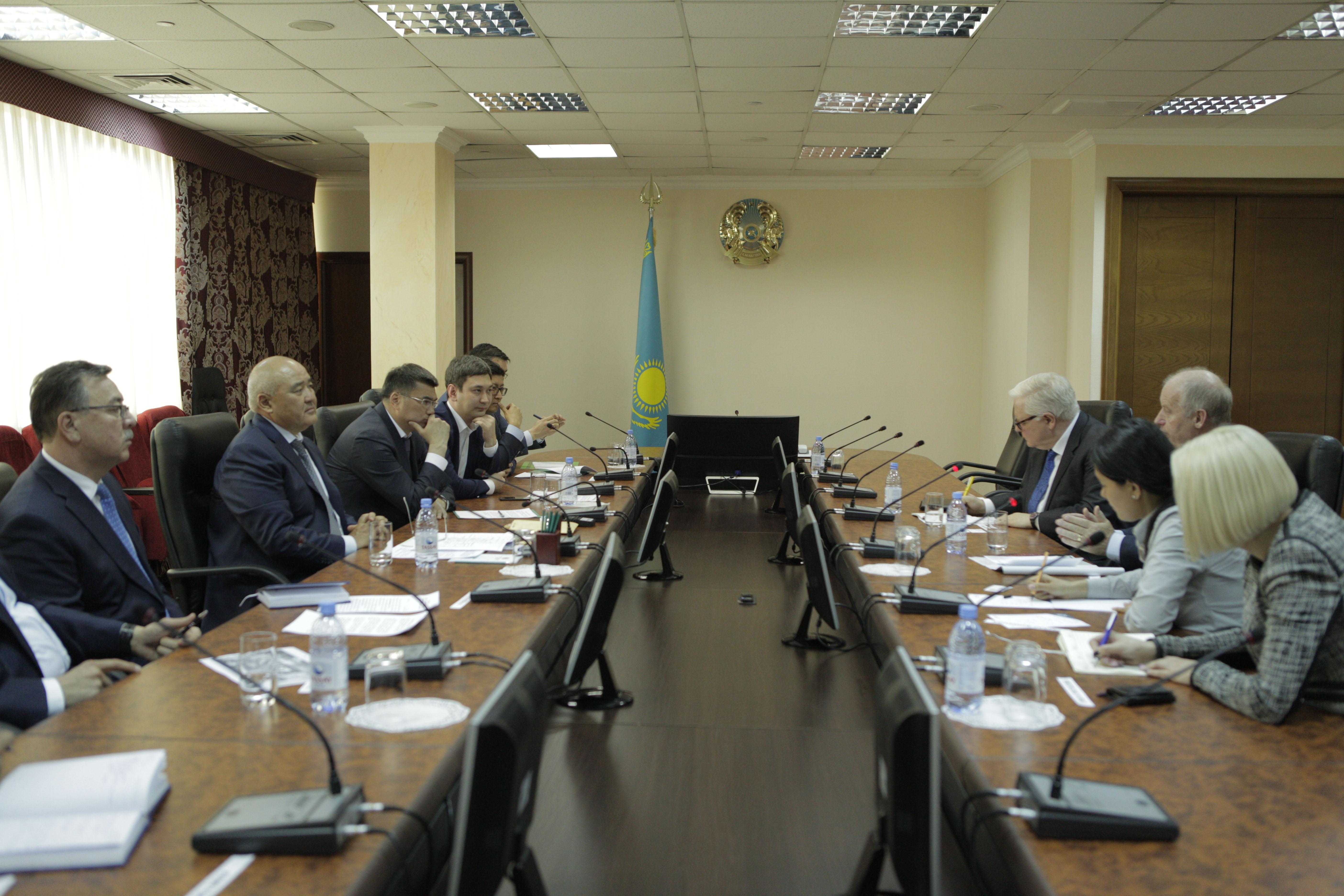 встреча министра сельского хозяйства РК с компанией Dunbia
