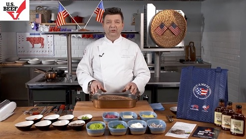 Polish Chefs Promote U.S. Beef at Virtual Horeca Krakow Show